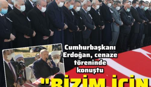 Şehitlere son görev! Cumhurbaşkanı Erdoğan'dan açıklamalar