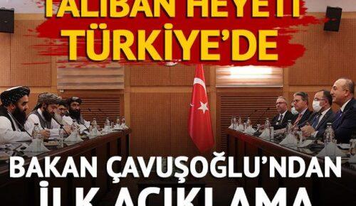Bakan Çavuşoğlu'ndan açıklama